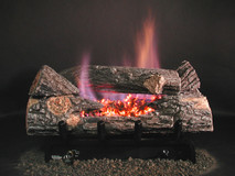 "DFC7 Chillbuster Double Face Evening Embers by Rasmussen Gas Logs (24"" size shown)"