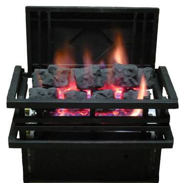 CoalFire by Rasmussen Gas Logs, Americana Basket