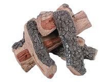 FP20B Rasmussen Fire Pit Bark/Split Logs