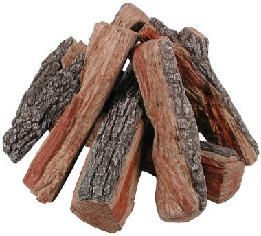 FP24B Fire Pit Bark/Split Logs
