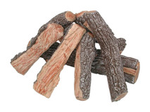 FP30B Rasmussen Fire Pit Bark/Split Logs