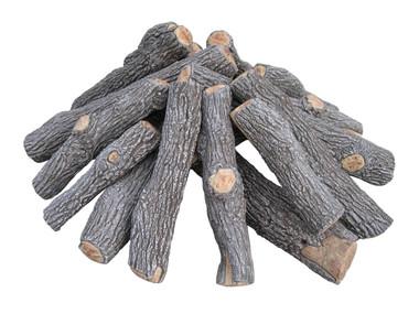 FP64B Rasmussen Fire Pit Bark/Split Logs