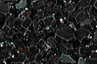 Black FireGlitter Glass