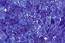 Cobalt Blue FireGlitter Glass