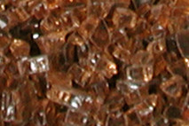 Copper FireGlitter Glass