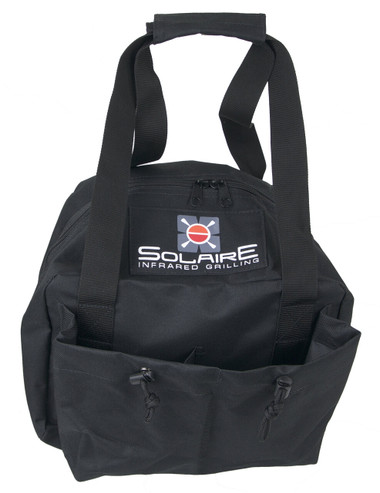 Carrying Bag for Solaire Anywhere Mini Personal Infrared Grill, Front view