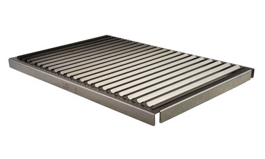 V-Channel Grill Grate for Solaire AllAbout Double Infrared Grill, Front
