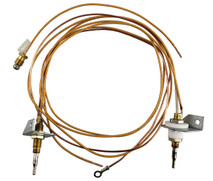 Thermocouple for portable tungsten Bromic heaters
