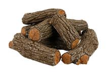 """FP21A Rasmussen Fire Pit Bark Logs arrangement with 21"""" footprint"""