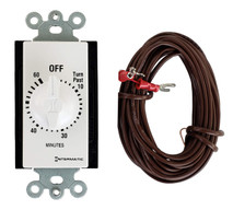 Wired Wall Timer for Rasmussen Gas Log Sets, WT-1