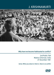 Why have we become habituated to conflict?