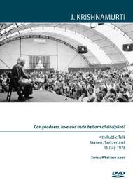 ¿Pueden la bondad, el amor y la verdad nacer de la disciplina?