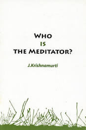 Who Is The Meditator ?