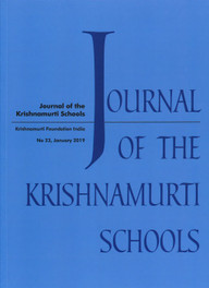 Journal of Krishnamurti Schools -2019