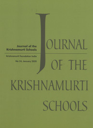 Journal of Krishnamurti Schools - 2020