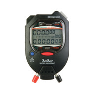 Hanhart 245.1947 VO Delta E 200 EC (Black) Digital Stopwatch - Calibrated