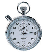 Hanhart 125.0104-VO Heavy Duty Mechanical Stopwatch - Calibrated