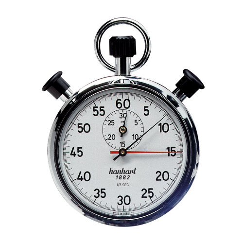 Hanhart 135.0101-EO/TPO Addition Timer Mechanical Stopwatch