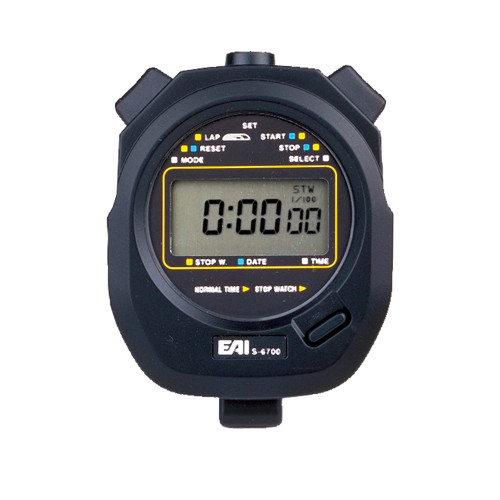 EAI® S-6700S Silent Digital Stopwatch