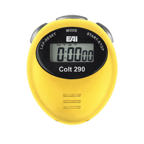 EAI® Colt 290 Digital Stopwatch - Yellow