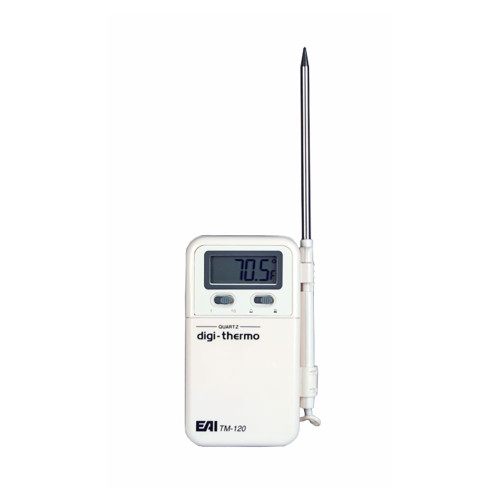 EAI® TM-120 Portable Thermometer/Time Display