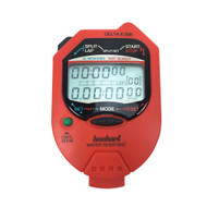 Hanhart 245.1948- VO Delta E 200 Red Digital Stopwatch - Calibrated
