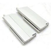 Lot of 2 Wincor Nixdorf 1750081426 BA72 MSR Card Reader Attachment, Light Gray
