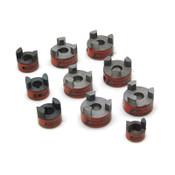 Lot of 10 Lovejoy Inc. L-075, L-070, L-050 .625 L-Type Standard Jaw Couplings