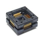 NEW Wells-CTI 7014-100-1-00C Open-Top IC Burn-In/Test Socket QFP 100-Pin TQFP