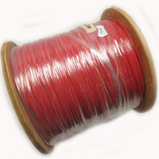 22AWG Red Hook Up Wire 600V Stranded Electrical Cable Wire