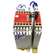 Omron G9SA-501 Safety Relay 24V AC/DC 50/60 Hz w/ G9SA-EX301 STI Relay 3PST