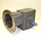 NEW Baldor GLF1521AJ Gearbox 1.2-Hp Speed Reducer 15:1 Worm-Gear Extended Flange
