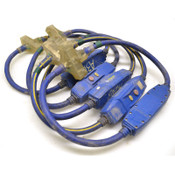 Lot of 5 Voltec 20 Amp GFCI Power Block Adapter Cable w/ Lighted End, 3 Feet
