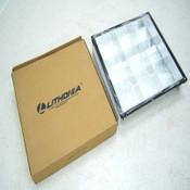 """Lithonia Lighting 2PM3N GB3 U31 9LD 277 1/3 GEB Parabolic Grid Troffer 3"""" Louver"""