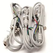 Lot of 3 Kawasaki KDK E35795 2990 VW-1SC Cables White