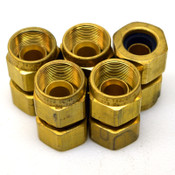 "Lot of 5 Hawke 753/0 Brass NPT/CL 1/2"" Cable Gland Connector Sealing Fitting NPT"