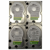 (Lot of 4) Western Digital Caviar RE WD5000ABPS 500GB SATA 3.0Gb/s  Hard Drive