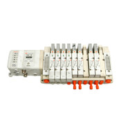 SMC Pneumatics EX250-SDN1 IE3 Manifold I/O Base w/Various Solenoid Air Valves