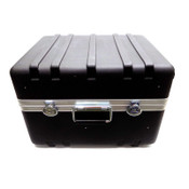 "Gemstar 14"" x 17"" x 21"" Molded Black Heavy-Duty Rolling Multi-Purpose Hard Case"