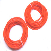 "NEW 50 Orange 83A Durometer Endless Round O-Ring Drive Belts 1/4"" x 20-1/4"""
