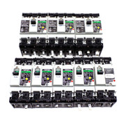 (Lot of 8) Fuji Circuit Breakers EG33AC EG32AC EG53AC 5 15 20 30 50 Amp SA52RCUL