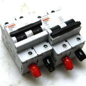 Lot of 2 Merlin Gerin Multi 9 C120N C63 Circuit Breakers 18360 415V 2Pole