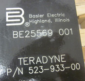 Basler Electric BE25569-001 3-Ph 86.6 kVA Transformer Teradyne 523-933-00