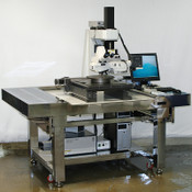 Zeiss Axiotron 2 300mm Video Wafer Inspection Station +Isolation Table Seoul 12""