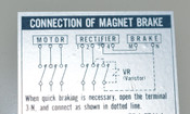 Sumitomo 3-Ph 5-Hp Induction Motor GearBox & Brake Drive Hyponic 25:1 F-112M Turn Key
