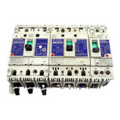 (3) Mitsubishi NV100-SWU 3-Pole 60A and 15A, NF50-SWU 2-Pole 5A Circuit Breakers