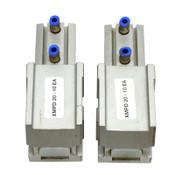 (Lot of 2) Flex Link XMPD20X10EA w/ Festo ADVC-20-10-1-P-A Pneumatic Cylinder