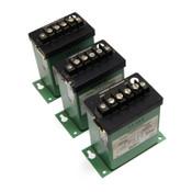 (Lot of 3) Flex-Core CT5-005A Current Transducers 115VAC Input 0-5A