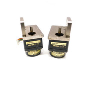 (Lot of 2) Japan Servo FE6PF10N-511 Brushless DC Motor w/ 6H9FBN-1 Gear Reducer