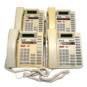 (Lot of 4) Nortel Meridian M8314 Business Office Display Phones Ash NT2N41AA23